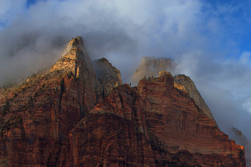 Snowy Morning in Zion National Park (part 2)